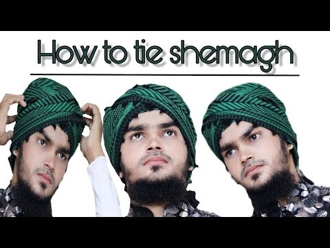 How to tie Shemagh | Imama | Headgear | Memakai | Tutorial Mohsin Raza Qadri