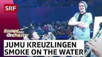 Jugendmusik Kreuzlingen mit The Eye Of The Tiger und Smoke on the Water - #srfkdo