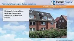 Juist: Liebevoll eingerichtete Ferienwohnung, nur wenige Minuten zum Strand - FeWo-direkt.de Video
