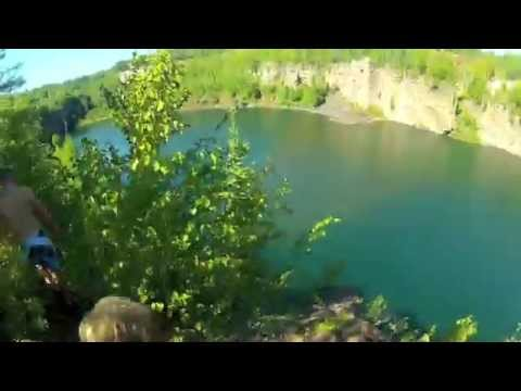Eveleth Cliff Jumping