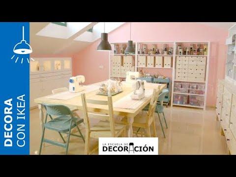 Cómo montar un salón de costura en casa - IKEA - YouTube