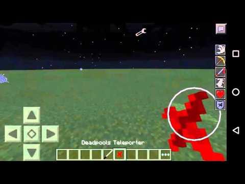 Minecraft Pe Süper Kahraman Modu !!