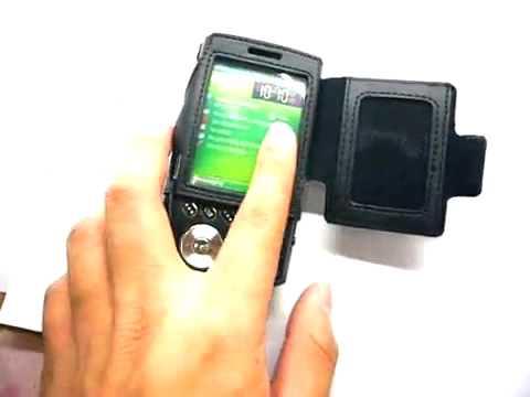 Capa de couro Premium Full proteção com clip removível para SAMSUNG SCH i760