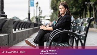 Human Rights Lawyer Becca Heller | 2018 MacArthur Fellow