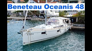Обзор Beneteau Oceanis 48, яхта для путешествий под парусом | Cupiditas | Купидитас