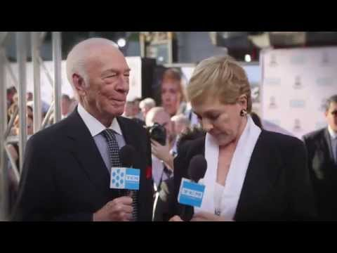Christopher Plummer and Julie Andrews At The TCM Film Festival