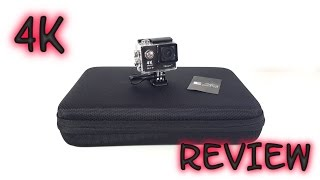 Vikeepro H9R 4K Action Camera REVIEW & Sample Videos