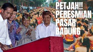 Download Video BALI MENYAMBUT JOKOWI DI  PASAR BADUNG MP3 3GP MP4