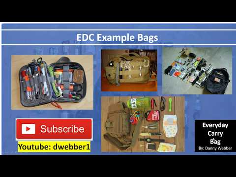 Everyday Carry Bags - Emergency Survival Bag