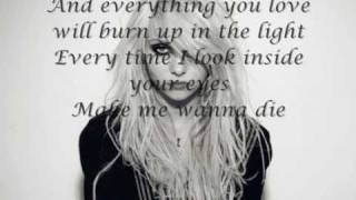 The Pretty Reckless-Taylor Momsen ● Make Me Wanna Die {Lyrics\Testo}