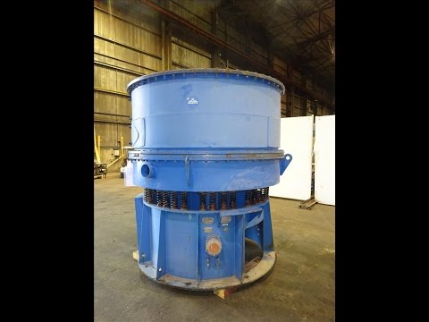 Used- Sweco Vibro Energy Dry Grinding Mill, Model DM70-RC - stock # 60141