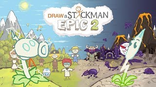PLANTS VS ZOMBIES Draw a Stickman Epic 2 Gameplay - Electric PeaShooter Save Lightning Reed
