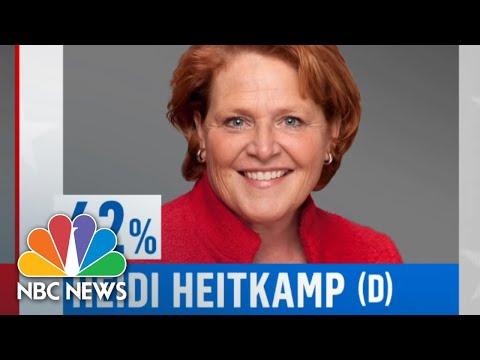 Heidi Heitkamp Loses Senate Race Giving Republicans Control Of Senate   NBC News