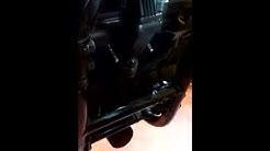 Suzuki Bandit broken exhaust header bolt fix