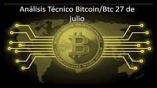 Análisis diario bitcoin/btc 27 de julio - ¿Momento de comprar Bitcoins?