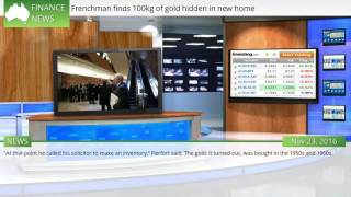 Video Frenchman finds 100kg of gold hidden in new home download MP3, 3GP, MP4, WEBM, AVI, FLV November 2017
