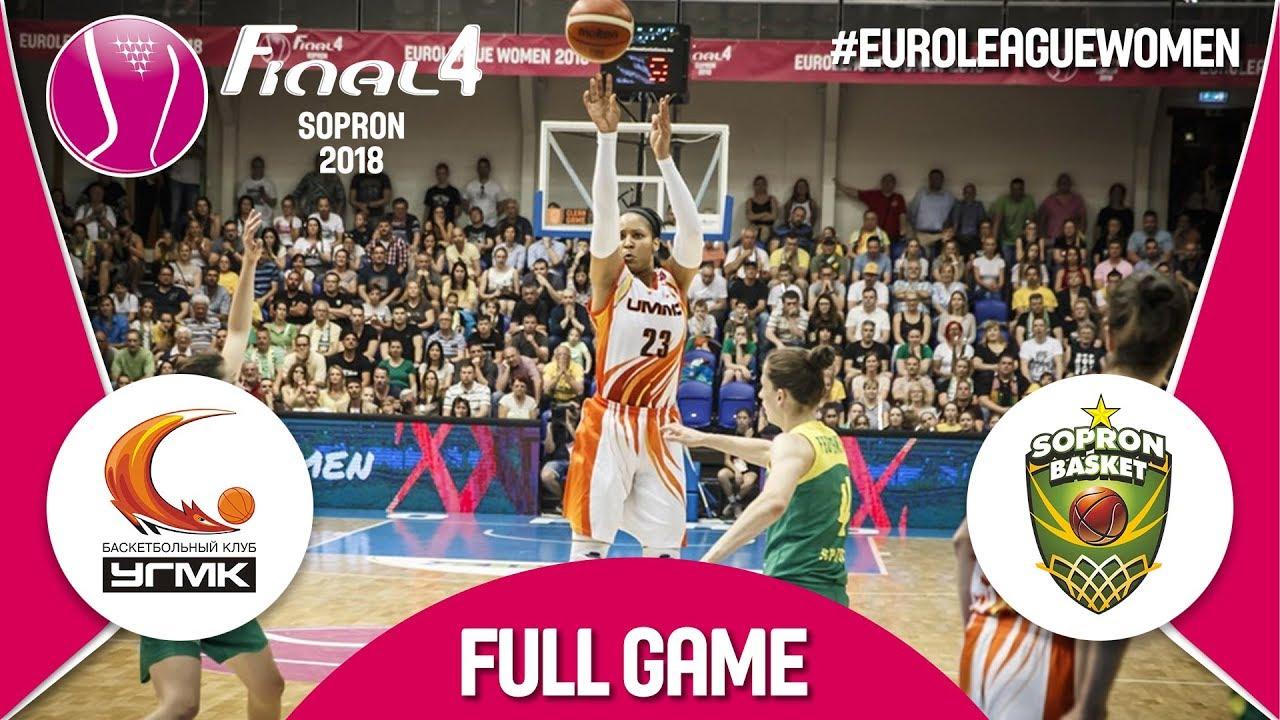 UMMC Ekaterinburg (RUS) v Sopron Basket (HUN) - Final