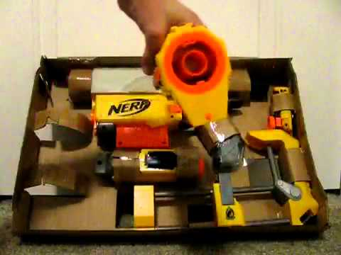 Nerf Recon CS-6 unboxing and overview