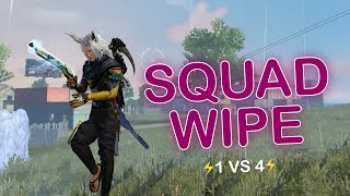 SOLO VS SQUAD || 25 KILLS || HOW TO WIPE SQUAD LIKE A BOSS🔥😤!!!!