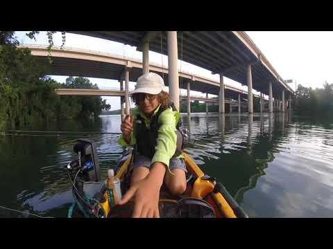 Fishing Lady Bird Lake Austin,TX