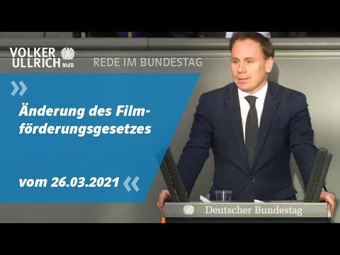 Änderung des Filmförderungsgesetzes