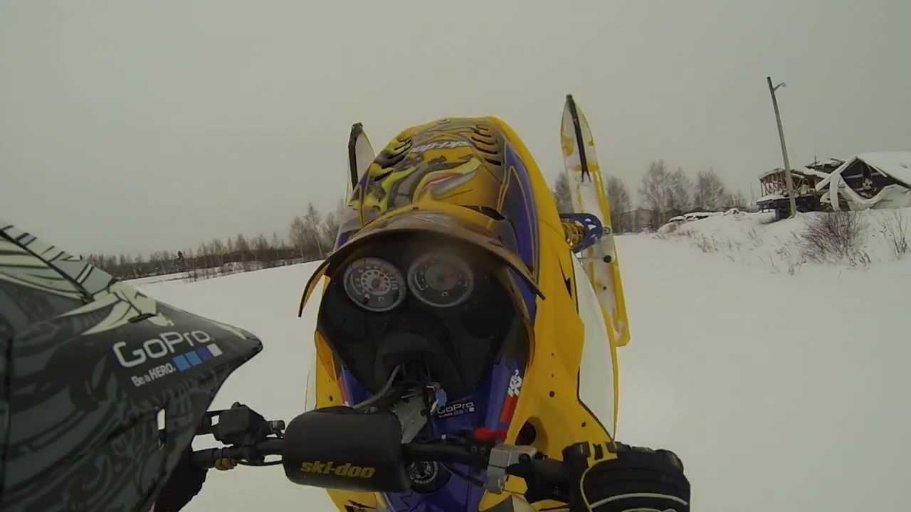 ski doo rev mxz x rs 800 2007 rdl rips the field