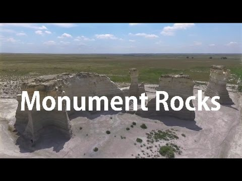 Monument Rocks - Kansas