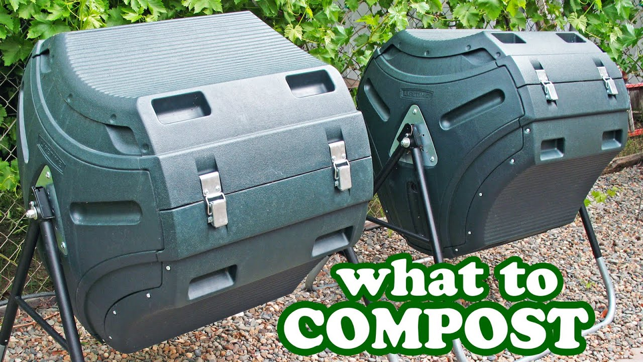 how to compost composting tips what to add tumbler composter bin bins diy make mulch soil. Black Bedroom Furniture Sets. Home Design Ideas
