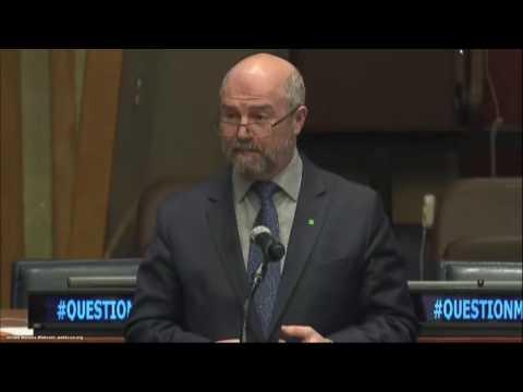 Передача договора о вещании RT во внутренней телесети ООН