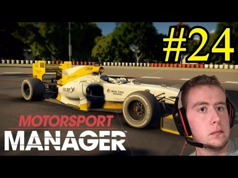 Motorsport Manager 2016 PC Career Mode - PART 24 - THE PERFECT STRATEGY!