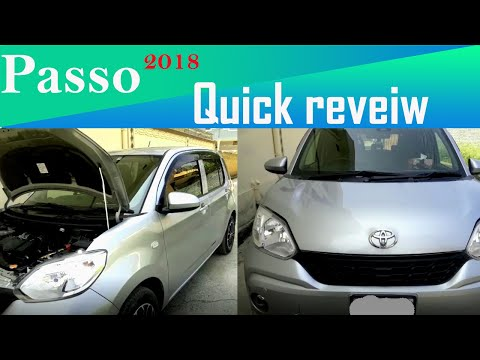 toyota Daihatsu passo 2018 review /M Arif