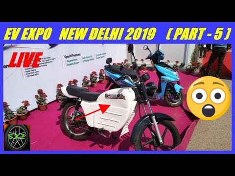 EV EXPO NEW DELHI 2019(PART-5)/GARVIT ELECTRIC BIKE AND  SCOOTER/WALKING TOUR VIDEO ON EV EXPO 2019.