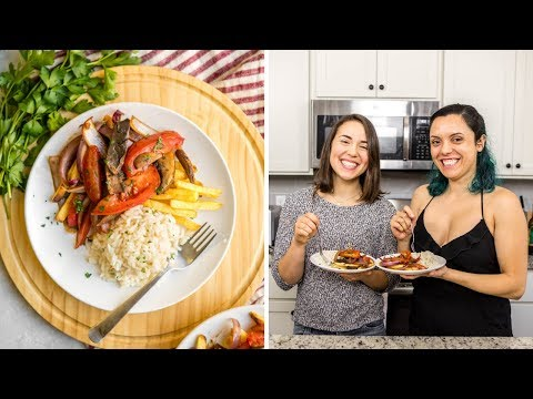 How to make Lomo Saltado | Vegan Peruvian Food