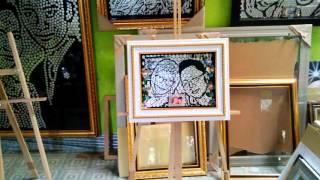 MOZZLE CRAFT Mahar Pernikahan PHIA & INO Lukisan Koin Unik Murah Terpercaya
