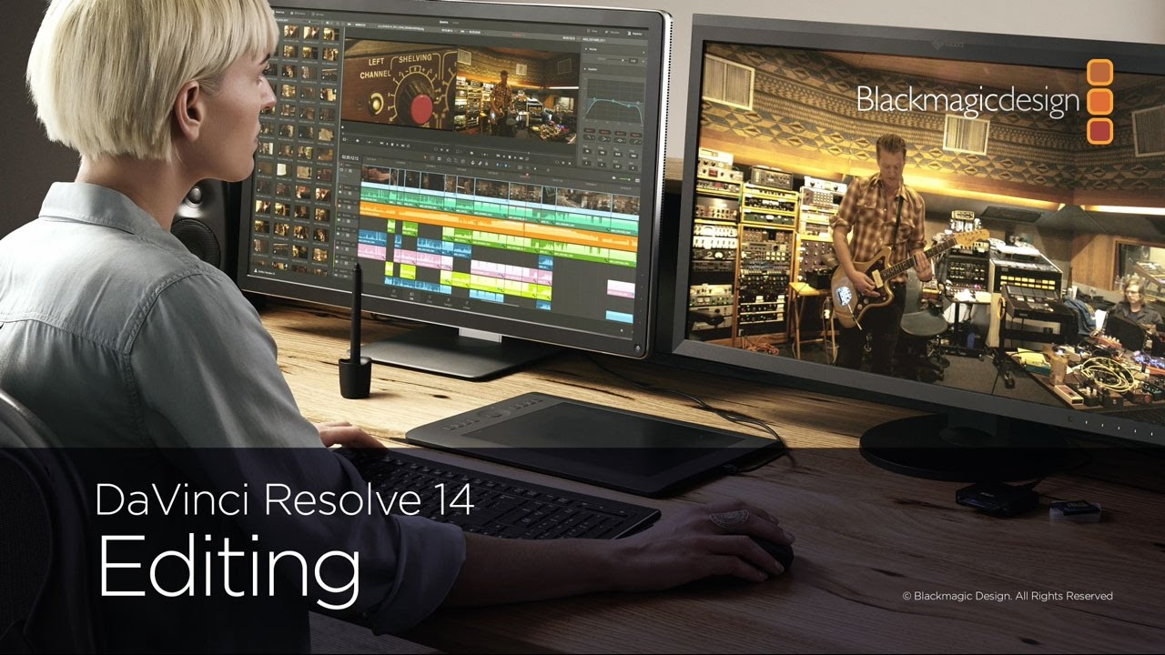 how to open davinci resolve