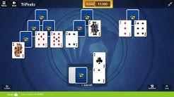 Microsoft Solitaire Collection - TriPeaks | April 21st 2018: Earn a Score of 40,000
