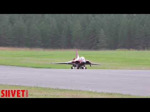 Saab Draken Jet Model Takeoff And Landing  - Jet Team Austria - JMW2017