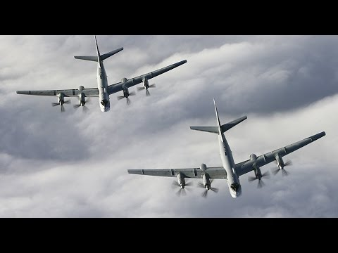 Russian Bombers Buzz Alaska