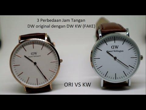 3 Perbedaan Jam tangan DW Original dan KW - YouTube d74cf94b21