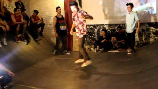 linh3t , spin , hoang C cypher in party rock