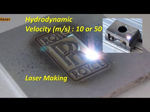 It's amazing with laser cutting technology. cnc working laser engraving applications process