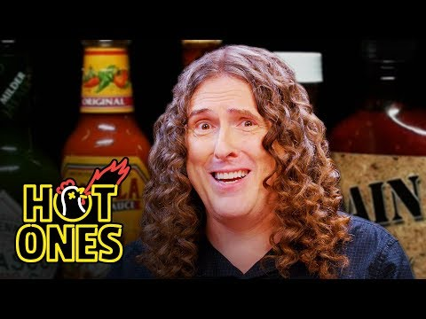 'Weird Al' Yankovic Goes Beyond Insanity While Eating Spicy Wings | Hot Ones