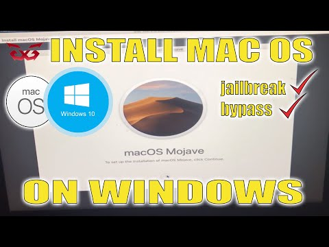[DUAL BOOT] INSTALL MAC OS MOJAVE ON WINDOWS FOR JAILBREAK AND BYPASS IPHONE, SIMPLE METHOD(eng/ind)