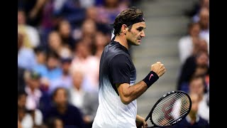 2017 US Open: Federer fires a winner