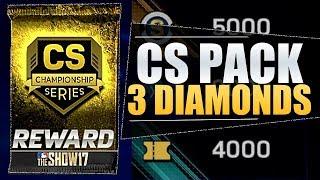 RANKED SEASONS PACK! 3 DIAMONDS! MLB THE SHOW 17 DIAMOND PULL!