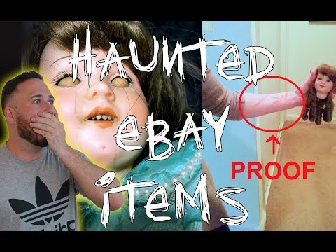HAUNTED EBAY ITEMS WITH DEMONS ATTACHED!