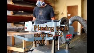 Cutting Cedar Strips
