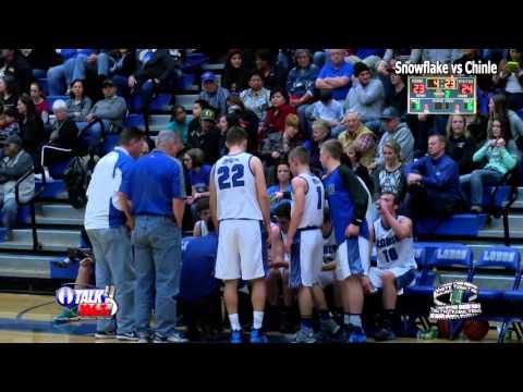 Chinle vs Snowflake Arizona High School Basketball Full Game