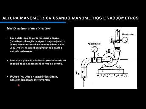 Altura manométrica de uma bomba centrífuga. Parte 3 - #3 thumbnail