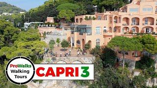 Capri's Belvedere Tragara - Walking Tour in 4K